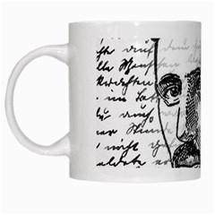 Nikola Tesla White Mugs