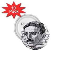 Nikola Tesla 1.75  Buttons (10 pack)