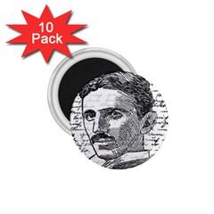 Nikola Tesla 1.75  Magnets (10 pack)
