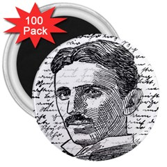 Nikola Tesla 3  Magnets (100 pack)