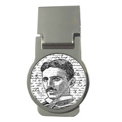 Nikola Tesla Money Clips (Round)