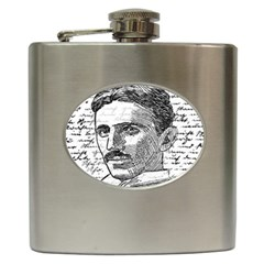 Nikola Tesla Hip Flask (6 oz)