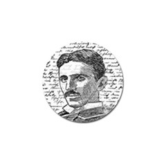 Nikola Tesla Golf Ball Marker (4 pack)