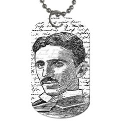 Nikola Tesla Dog Tag (Two Sides)