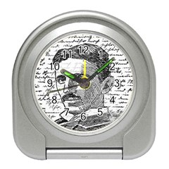 Nikola Tesla Travel Alarm Clocks