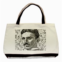 Nikola Tesla Basic Tote Bag