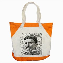 Nikola Tesla Accent Tote Bag