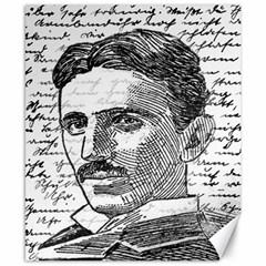 Nikola Tesla Canvas 8  x 10