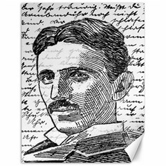 Nikola Tesla Canvas 12  x 16