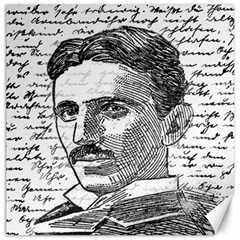 Nikola Tesla Canvas 16  x 16