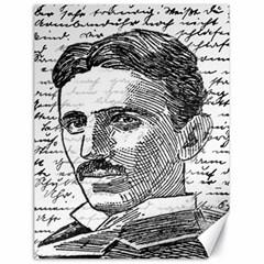 Nikola Tesla Canvas 18  x 24