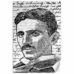 Nikola Tesla Canvas 24  x 36