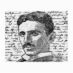 Nikola Tesla Small Glasses Cloth (2-Side)