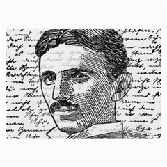Nikola Tesla Large Glasses Cloth