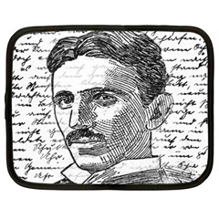 Nikola Tesla Netbook Case (Large)