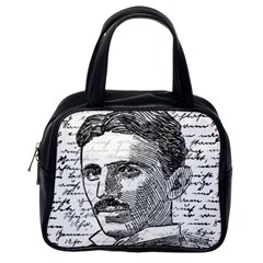 Nikola Tesla Classic Handbags (One Side)
