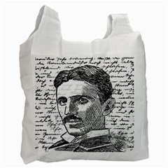 Nikola Tesla Recycle Bag (Two Side)