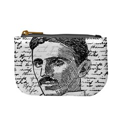 Nikola Tesla Mini Coin Purses