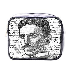 Nikola Tesla Mini Toiletries Bags