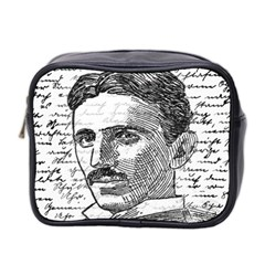 Nikola Tesla Mini Toiletries Bag 2-Side