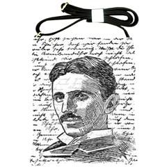 Nikola Tesla Shoulder Sling Bags