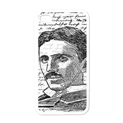 Nikola Tesla Apple iPhone 4 Case (White)