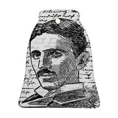 Nikola Tesla Bell Ornament (Two Sides)