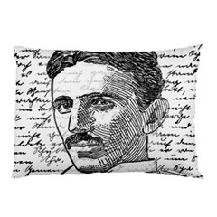 Nikola Tesla Pillow Case (Two Sides)