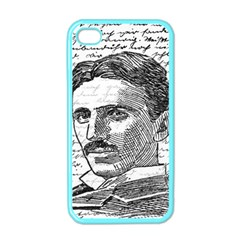 Nikola Tesla Apple iPhone 4 Case (Color)