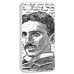 Nikola Tesla Apple iPhone 4/4s Seamless Case (White)