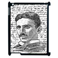 Nikola Tesla Apple iPad 2 Case (Black)