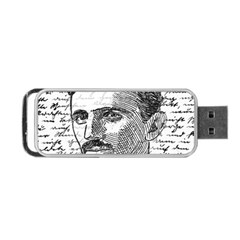 Nikola Tesla Portable USB Flash (One Side)