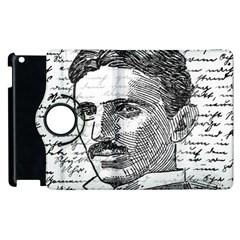 Nikola Tesla Apple iPad 2 Flip 360 Case