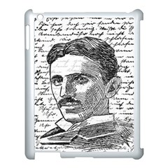 Nikola Tesla Apple iPad 3/4 Case (White)