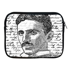 Nikola Tesla Apple iPad 2/3/4 Zipper Cases