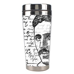 Nikola Tesla Stainless Steel Travel Tumblers