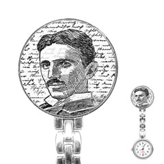 Nikola Tesla Stainless Steel Nurses Watch