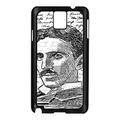 Nikola Tesla Samsung Galaxy Note 3 N9005 Case (Black)