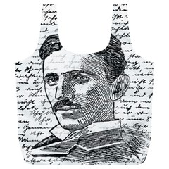 Nikola Tesla Full Print Recycle Bags (L)