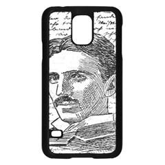 Nikola Tesla Samsung Galaxy S5 Case (Black)