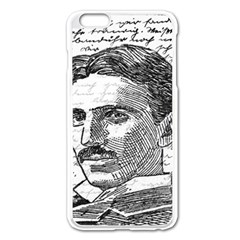 Nikola Tesla Apple iPhone 6 Plus/6S Plus Enamel White Case