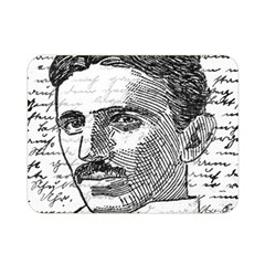 Nikola Tesla Double Sided Flano Blanket (Mini)