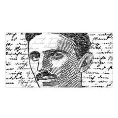 Nikola Tesla Satin Shawl