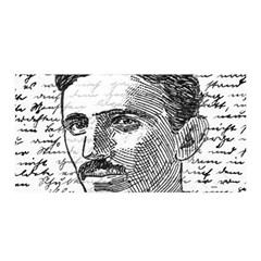 Nikola Tesla Satin Wrap