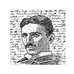 Nikola Tesla Small Satin Scarf (Square)