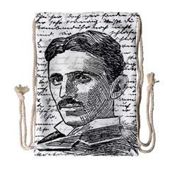 Nikola Tesla Drawstring Bag (Large)