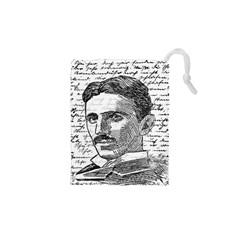 Nikola Tesla Drawstring Pouches (XS)