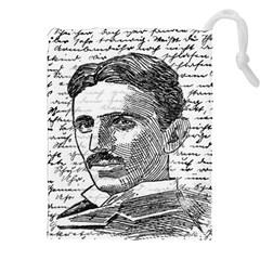 Nikola Tesla Drawstring Pouches (XXL)