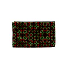 Asian Ornate Patchwork Pattern Cosmetic Bag (Small)