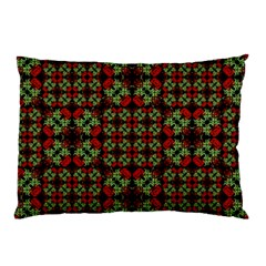 Asian Ornate Patchwork Pattern Pillow Case (Two Sides)